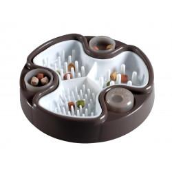 Vadigran Anti-slug bowl with soft peg + snack tray. ø24 cm. for dogs Bowl, bowl, bowl