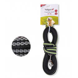 Vadigran Nylon training lead. 5 meters x 17 mm. green. for dog. dog leash