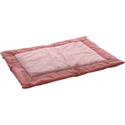 Flamingo Pet Products SUZA Plaid blanket. 100 x 70 x 3 cm. old pink. for dogs. Tapis chien