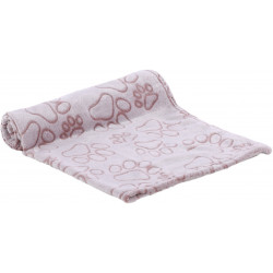 Flamingo Pet Products LALIA blanket. Size S. 70 x 100cm. old pink. for dogs. Tapis chien