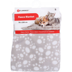 Flamingo Pet Products DARIO blanket. Size S. 70 x 100cm. beige. for dogs. Tapis chien