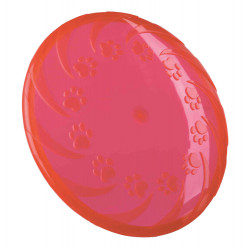 Trixie Frisbee. Dog Disc, TPR, galleggiante per cani. ø 18 cm. Colori: casuali. TR-33505 Jeux