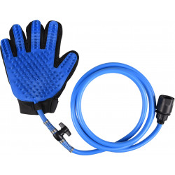 Flamingo Pet Products Cleaning glove with water jet connection for dogs. Gants et rouleaux de toilettage