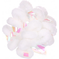 1 NEVA witte bal. ø 5,5 cm. speeltje voor katten. Flamingo Pet Products FL-561185 Spelletjes
