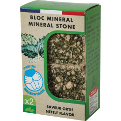 zolux Eden mineral block nettle flavour for rodents 200g Friandise