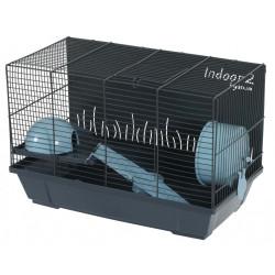 zolux Cage Indoor 2. bleu 50 pour hamster. 51 x 28 x hauteur 32 cm. Cage