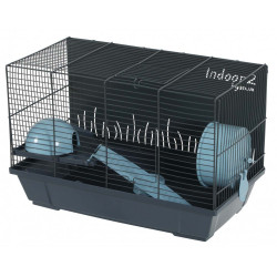 zolux Innenkäfig 2. blau 50 für Hamster. 51 x 28 x Höhe 32 cm. ZO-205104 Käfig
