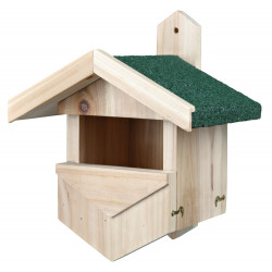 Trixie Wooden nesting box for cavity nesters small opening Outdoor feeders