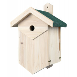 Trixie Nesting box for cavity-nesting birds. Dimensions: 25 × 40 × 22 cm/ø 2.7 cm Nichoir oiseaux