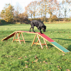 Trixie Dogwalk for Agility. Wooden dogwalk. for dogs. Agility dog