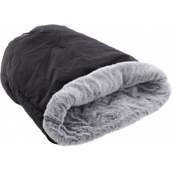 DORSA 2 em 1 saco cama preto. ø 36 x 60 cm. para gatos. FL-561188 Couchage