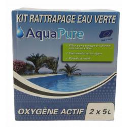 Générique Aquapure green water kit 10 litres Oxygène actif