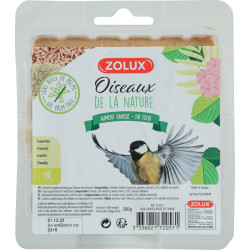 zolux Insect grease block. 300 gr. for nature birds. nourriture a base Insecte