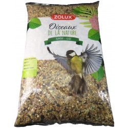 zolux Seed mix for garden birds. 5kg bag. Food and drink