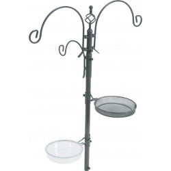 zolux Feeder station on stand. total height 189 cm. for birds. Outdoor feeders