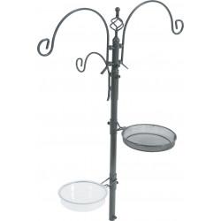 zolux Stazione di alimentazione su supporto. altezza totale 189 cm. per gli uccelli. ZO-170112 Alimentatori per esterni