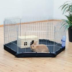 Base pour aire de jeu extérieure pour art. 6250/6253 Transport et cage Trixie TR-6257
