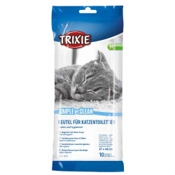 Trixie Simple'n'Clean litter bags. Size M for cats. litter accessory