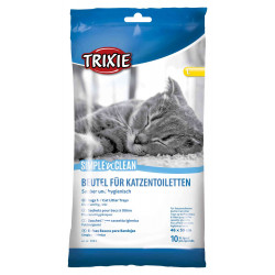 Trixie Simple'n'Clean litter bags. Size L. for cats. litter accessory