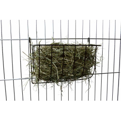 Trixie Hanging hay rack. Size: 25 × 18 × 12 cm. for rodents. Raterier