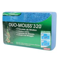zolux Duo foam 320. 2 aquarium filtration foams. Filter media, accessories