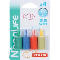 zolux zylinder-Luftverteiler. ø 1,5 x 2,5 cm. 4er-Satz. für Aquarium. ZO-321310 luftstein