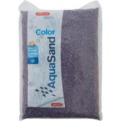 Areia decorativa. 2-3 mm . a ametista de areia aqua roxa. 1 kg. para aquário. ZO-346085 Solos, substratos