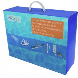 Kit entretien piscine Poolstyle Kit entretien poolstyle SC-PSL-400-8550