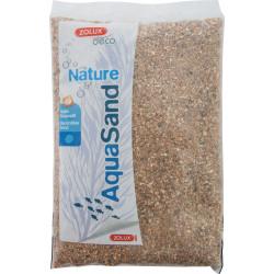 zolux decorative floor. 1-4 mm, natural river AquaSand . 1 kg. for aquarium. Soils, substrates, substrates