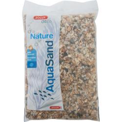 zolux decorative floor. 2-5 mm, natural yellow quartz AquaSand . 1 kg. for aquarium. Soils, substrates, substrates