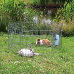 Enclos pour lapin ø 126 × 58 cm Transport et cage Trixie TR-6250