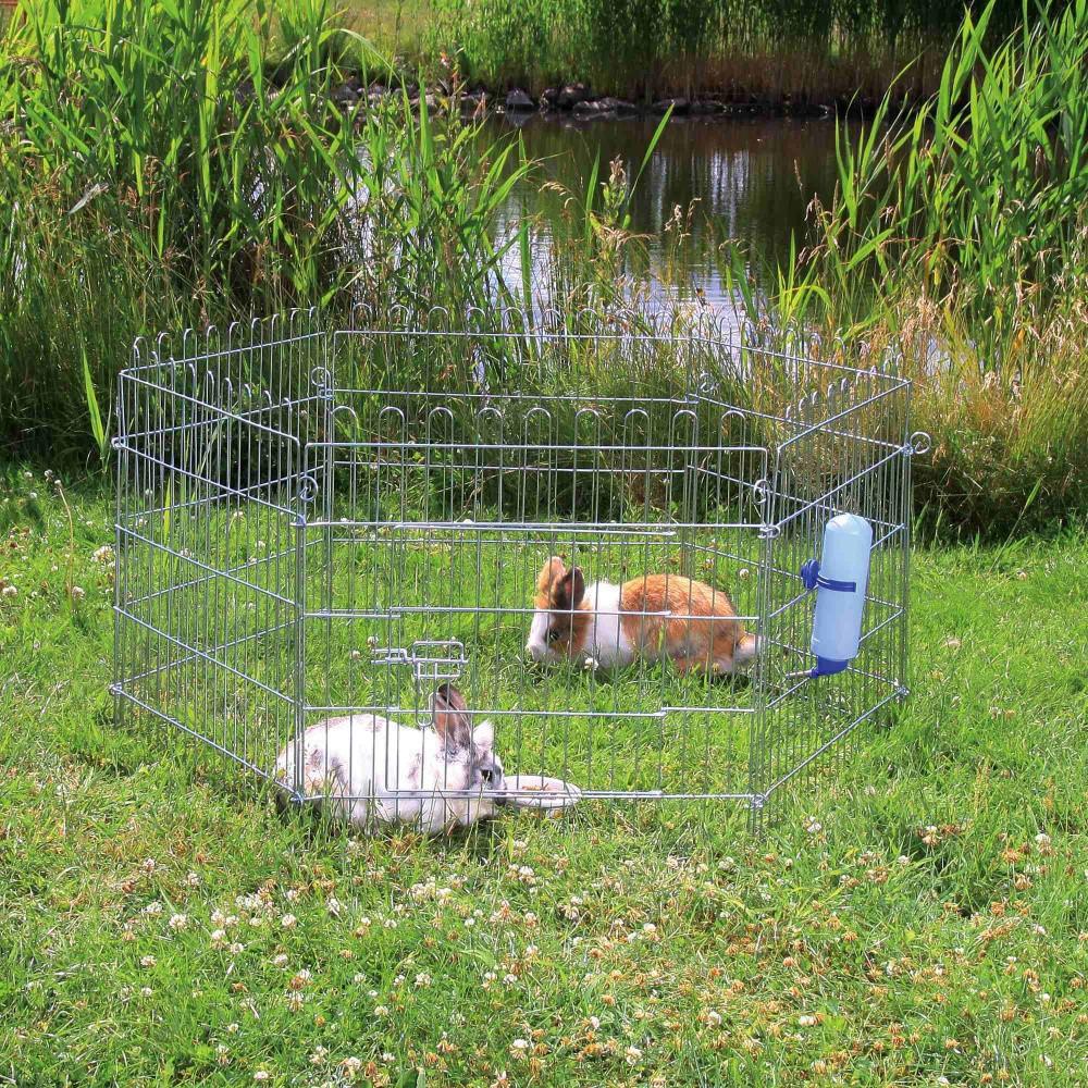 Enclos pour lapin ø 126 × 58 cm Cage Trixie TR-6250