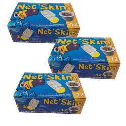 toucan 36 NET SKIM, pré-filtre jetable pour skimmer - 3 boite de 12 pieces. Filtration piscine