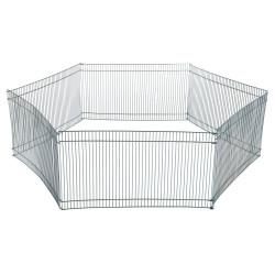 Trixie Enclos ø 90 × 25 cm pour hamsters ou souris (contient 6 grilles) TR-6249 Cage