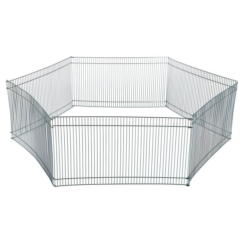 Enclos ø 90 × 25 cm pour hamsters ou souris (contient 6 grilles) Cage Trixie TR-6249