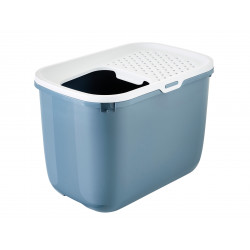 savic HOP In. top entry 58 x 39 x 40 cm. blue . for cat Toilet house