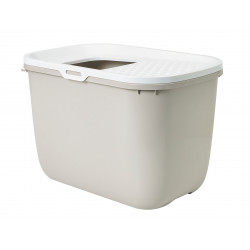 savic HOP In. top entry 58 x 39 x 40 cm. taupe . for cat Toilet house