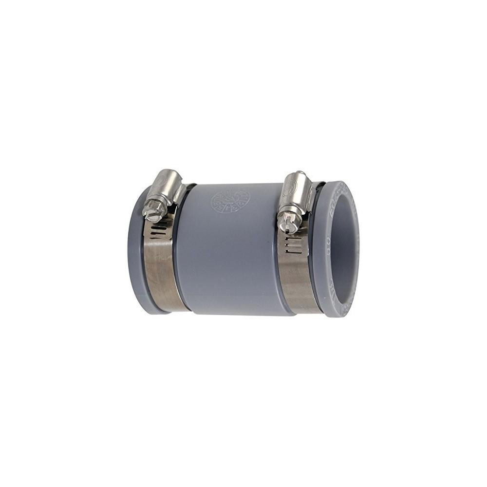 Raccords multi-matériaux en PVC souples diamètre 110 a 112 mm Raccord PVC évacuation  Interplast IN-S112