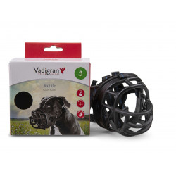 Vadigran Rubber muzzle. size 3. for ordinary staff dogs. Muselière