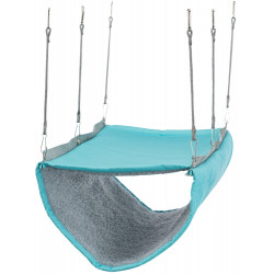 Trixie Hammock with 2 floors, 22 x 15 x 30 cm, for ferrets or rats. random color. Beds, hammocks, nesters