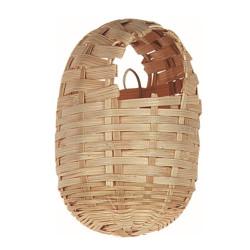 Flamingo Pet Products Exotic Bamboo Bird Nest. size 10 x 12 cm. Nichoir oiseaux