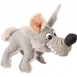 Flamingo Pet Products Coyote plush, 28 cm. Dog toy. Peluche pour chien