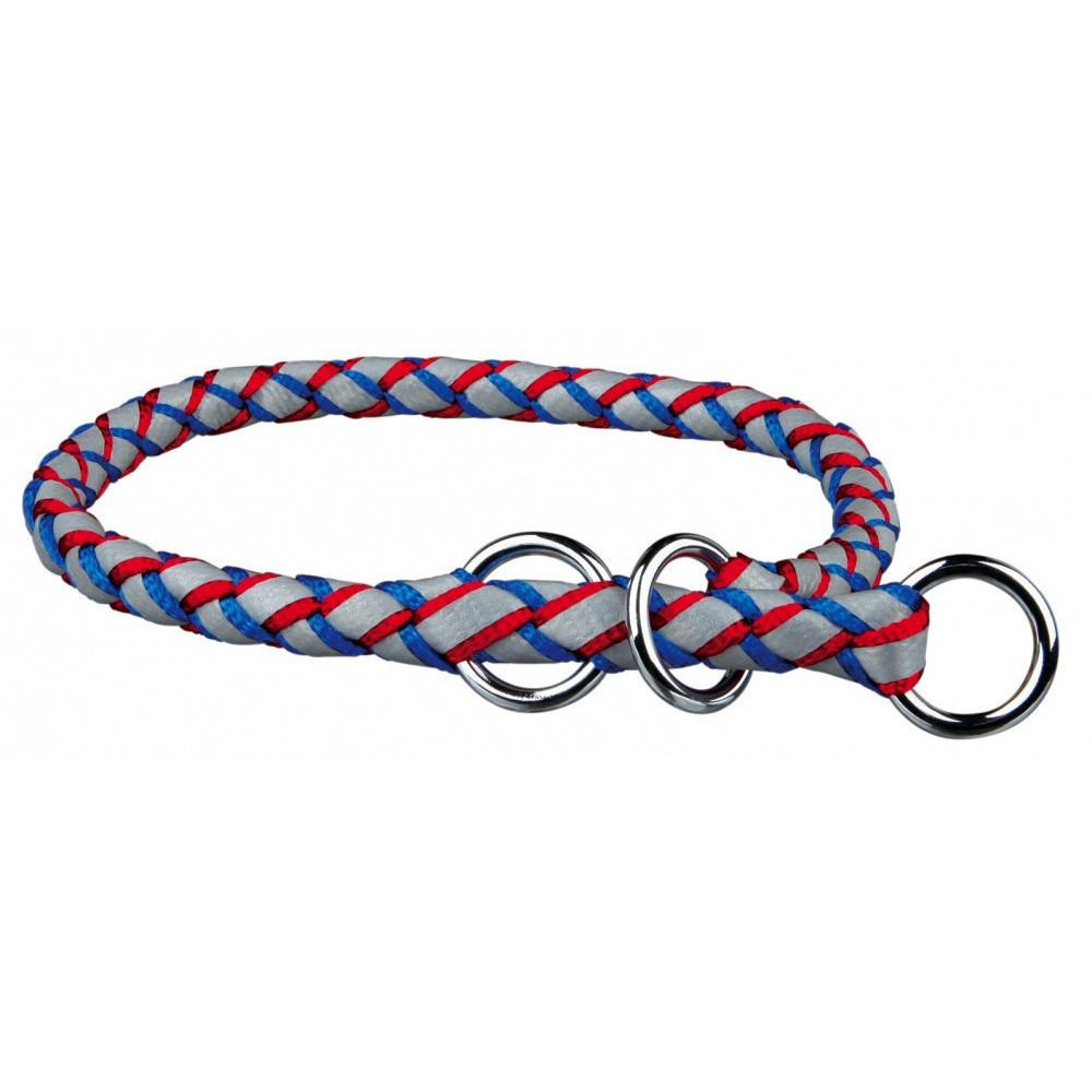 Trixie TR-13642 collar L-XL 52-60 cm ø18 mm blue-red semi-controller Necklace