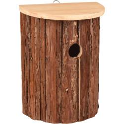 Flamingo Pet Products GERSON Bird Nesting Box. 18.5 X 11 X 25 cm. natural wood. Nichoir oiseaux