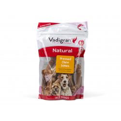 Vadigran Candy Natural Chew Bones pressed. 5 cm x 25 pieces. 313 g. Nourriture