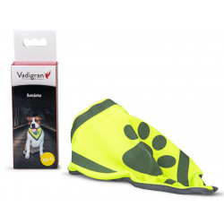 Vadigran Reflective bandana. size XS-S, max neck size 20 cm. for dogs. Dog Safety