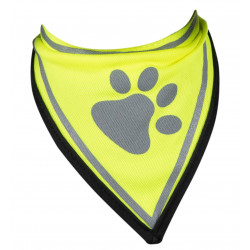Vadigran Reflective bandana. size M-L, max neck size 37 cm. for dogs. Dog Safety