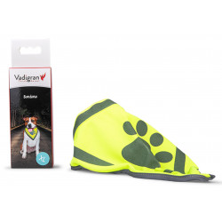Vadigran Reflective bandana. size XL, max neck size 45 cm. for dogs. Dog Safety