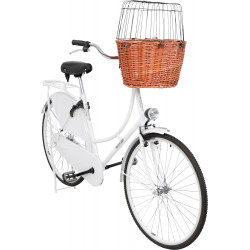 Trixie Bike basket for handlebars, for dogs up to 5 kg. Bicycle basket