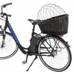 Trixie Bike basket, luggage rack. size: 35 x 49 x 55 cm, for dog max 8 kg. Bicycle basket